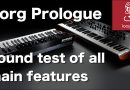 Korg Prologue: overview of all new FX, filter, 16 VPM oscillators and more