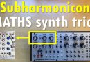 Synth trick: How mimic a Subharmonicon with Maths by Make Noise