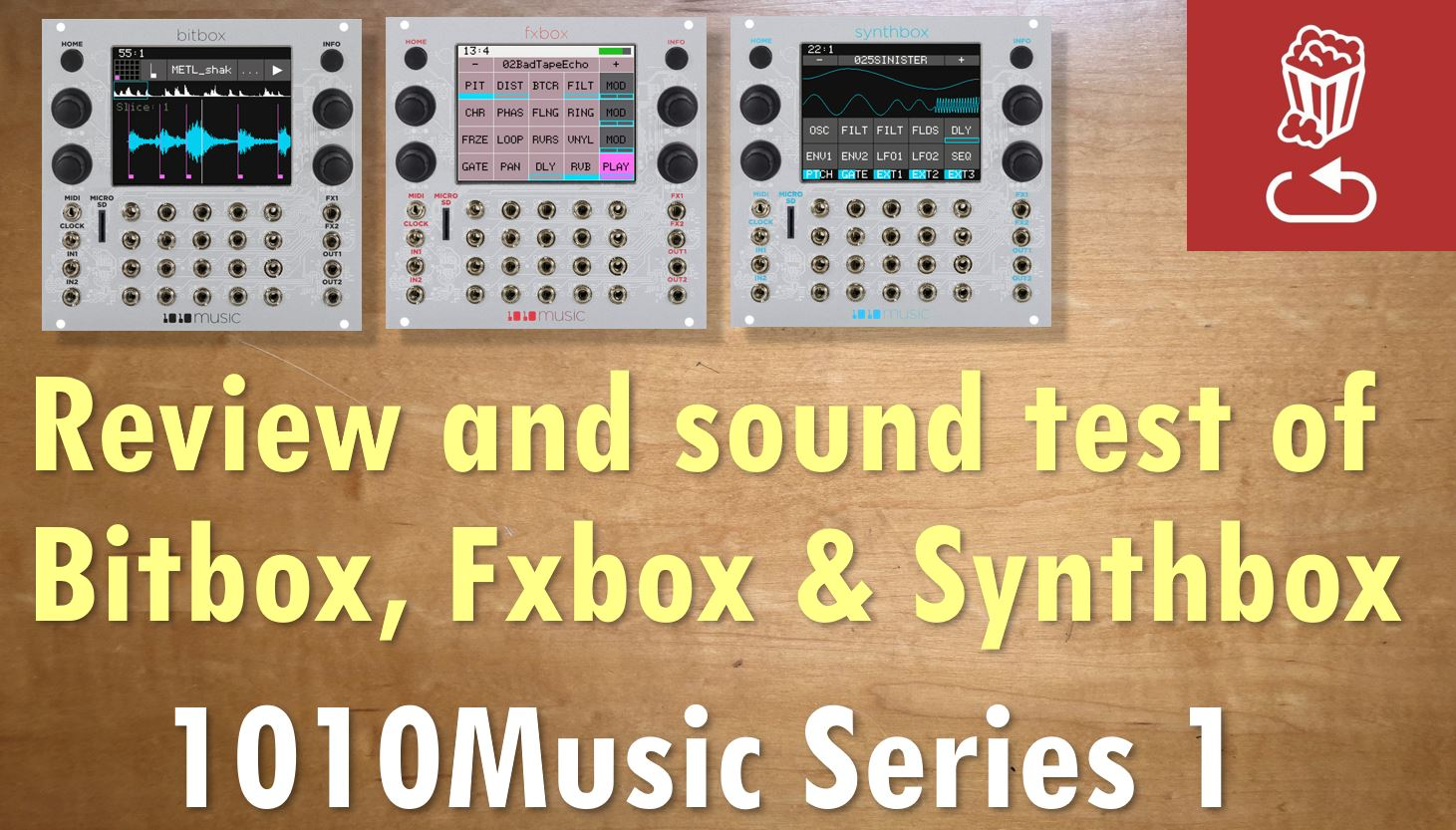1010Music SERIES 1 Eurorack Powerhouse: Review and sound