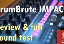 Arturia DrumBrute Impact Comprehensive Review and Sound Test