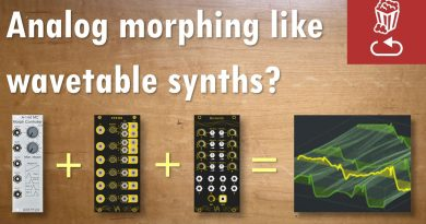 Analog morphing like a wave-table synth? Yes you can, and here's how