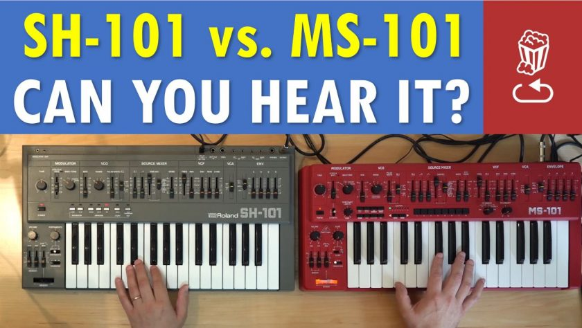 SH-101 vs MS-101 by Loopop