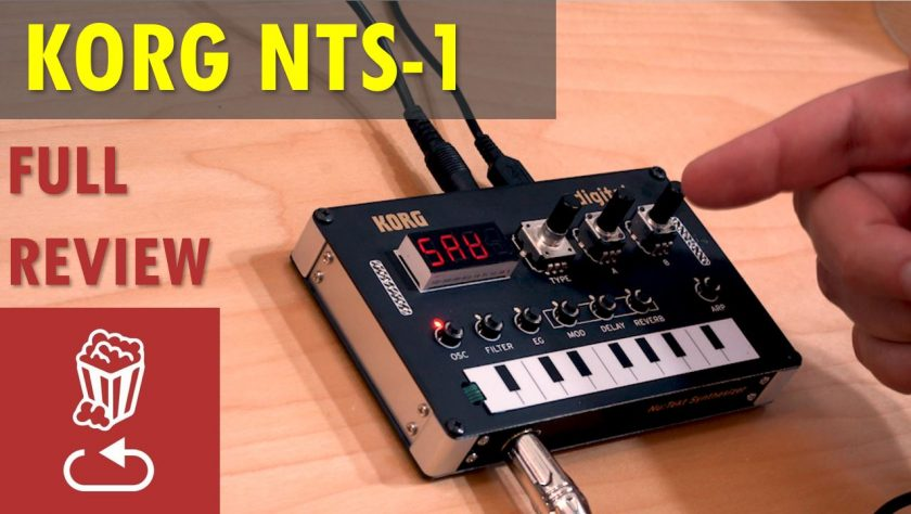 Korg Nutekt NTS-1 review and tutorial