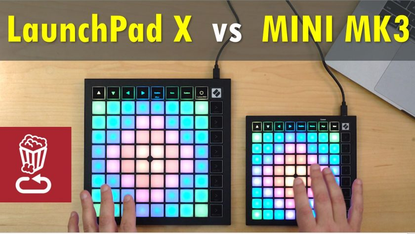Novation LaunchPad X vs Mini MK3
