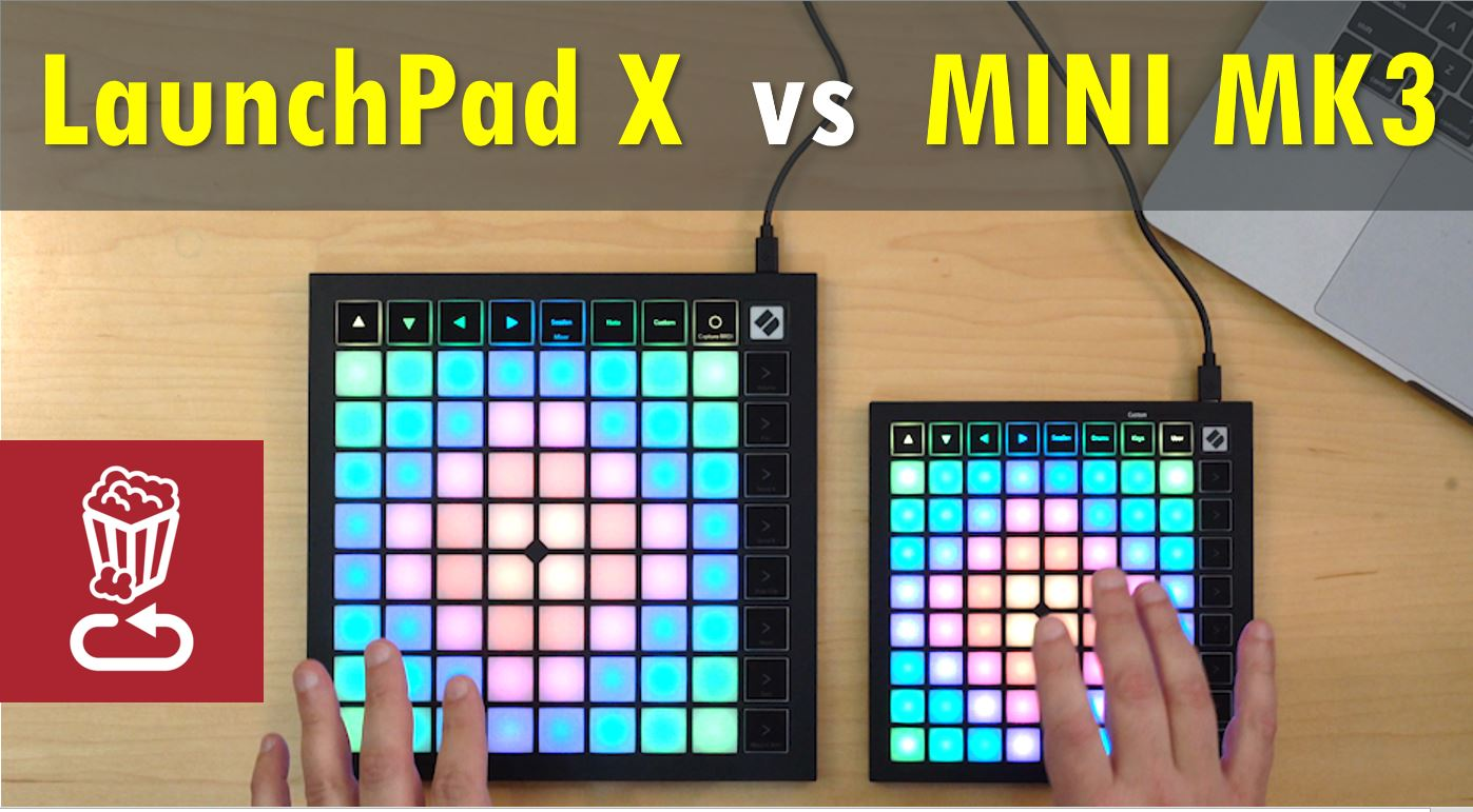 Novation LaunchPad X vs Mini MK3