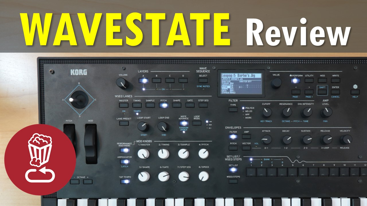 Korg Wavestate Review and Tutorial
