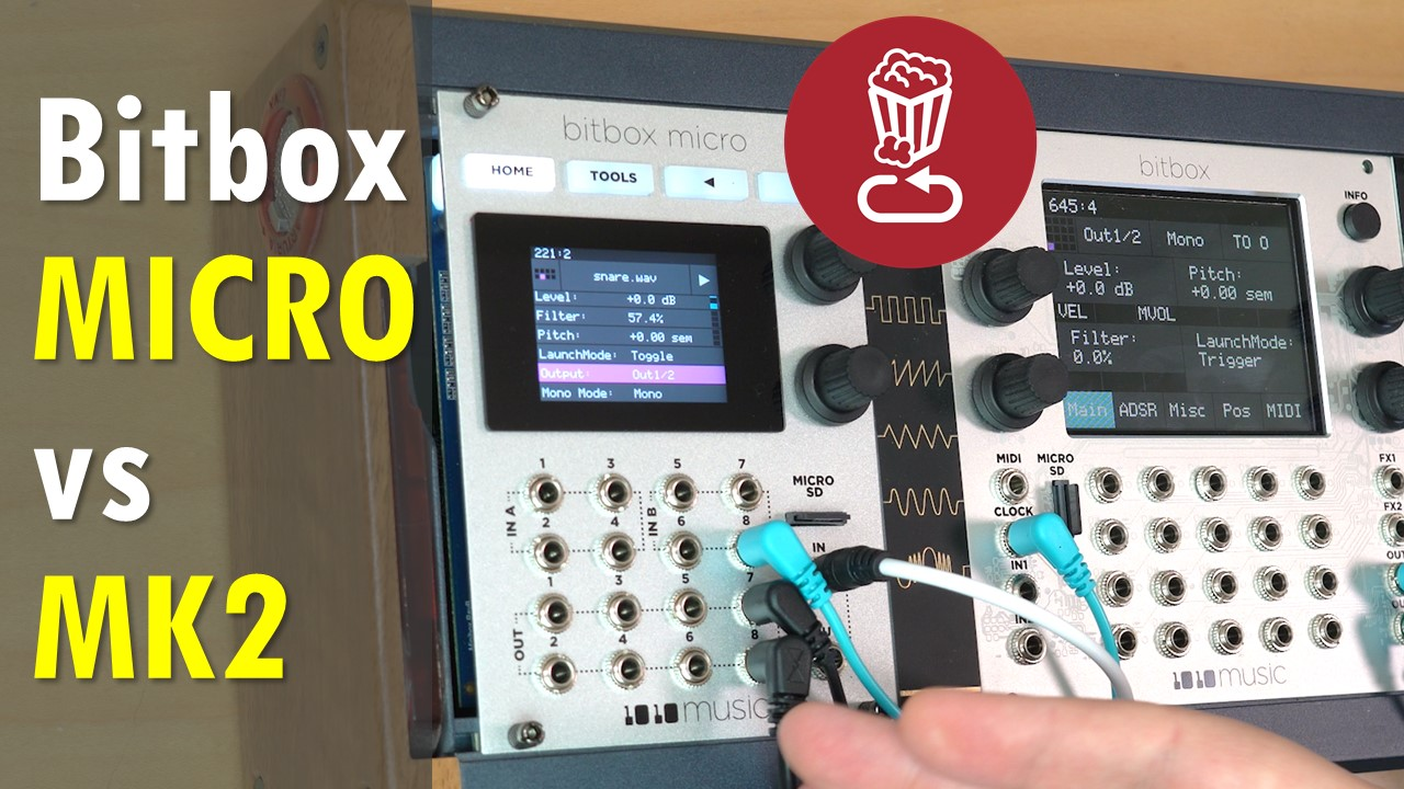 Bitbox Micro vs Bitbox MK2: Review, tutorial and detailed comparison of 1010music's new samplers