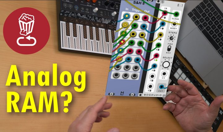 modular analog ram