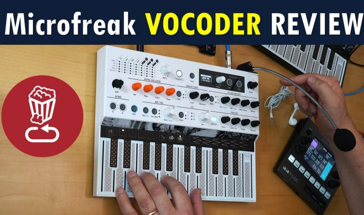 Arturia MicroFreak Vocoder Tutorial