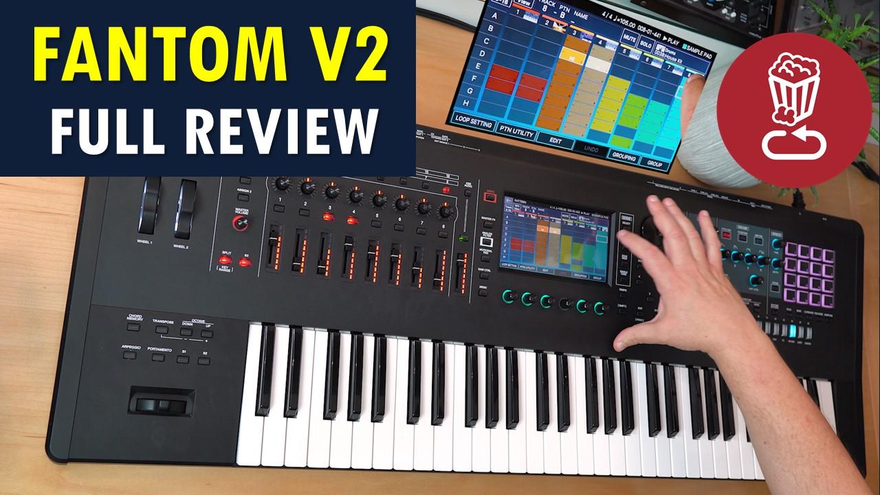 Roland Fantom 2 review and tutorial