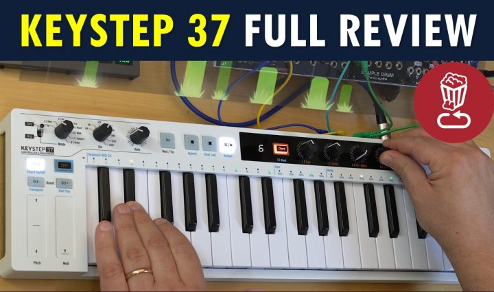 Arturia KeyStep 37 tutorial