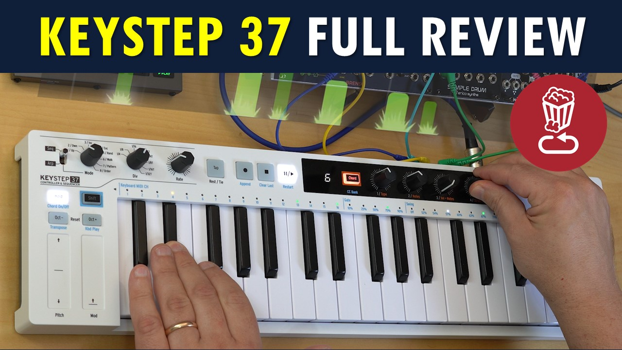 Arturia KeyStep 37 tutorial