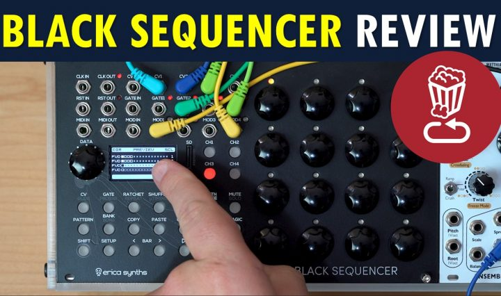 Erica Synths Black Sequencer Review Tutorial
