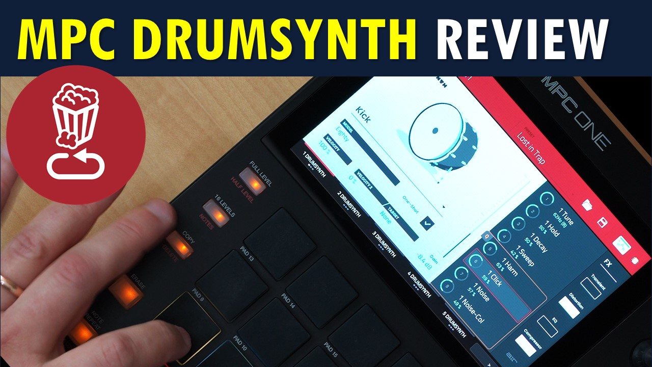MPC DrumSynth Review