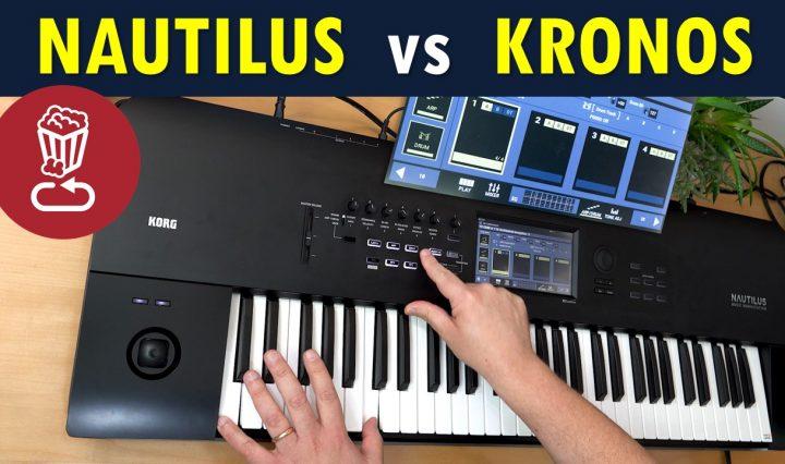 Korg Nautilus Review and comparison to Kronos