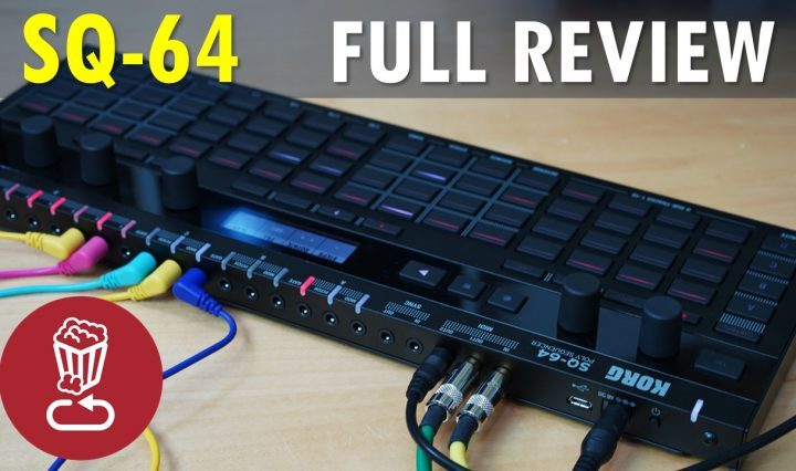Korg SQ-64 Review and Tutorial