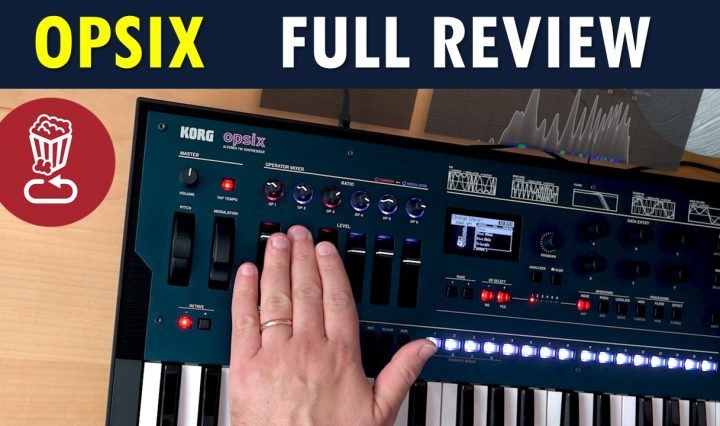 Korg OPSIX review and fm synthesis tutorial