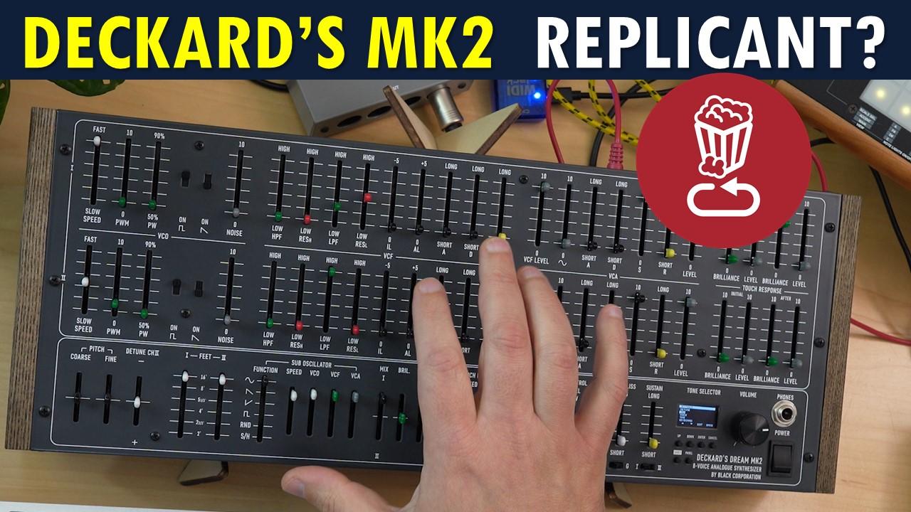 Deckard's Dream MK2 Review Yamaha CS-80