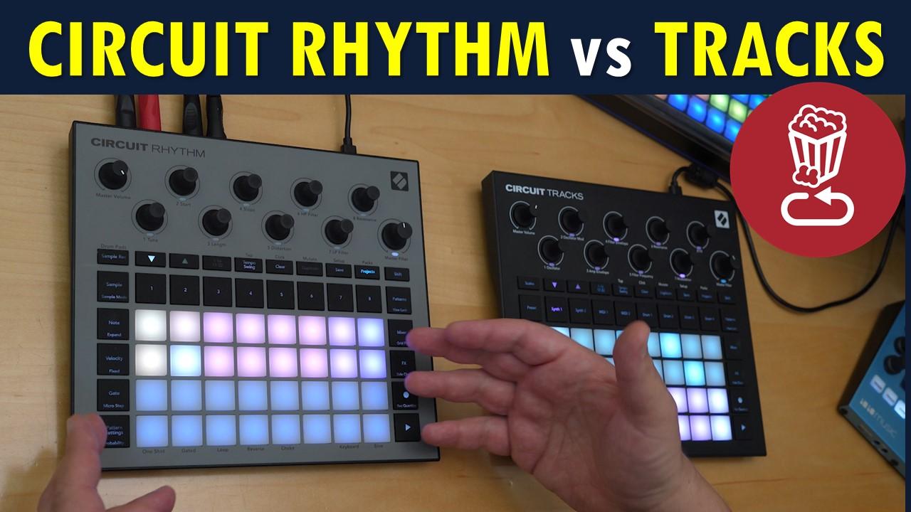 Circuit Rhythm vs Tracks