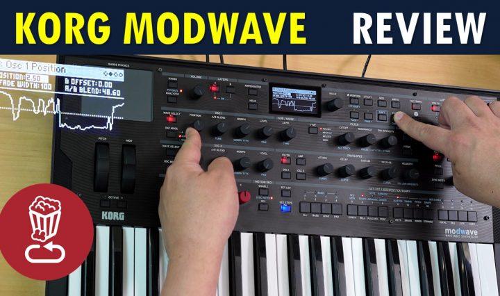 korg modwave review tutorial